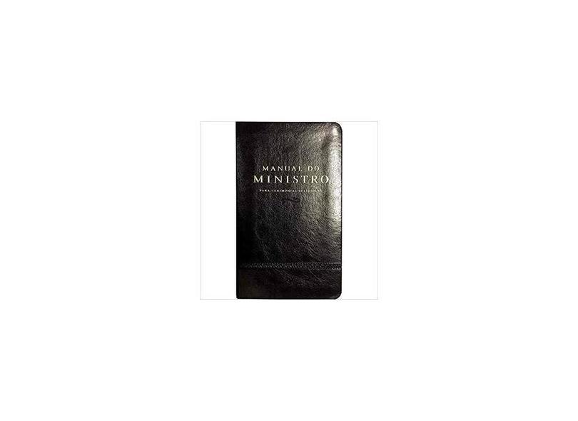 Manual do Ministro - Preto - Vários Autores - 9788000003665