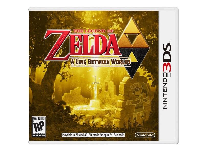 Jogo The Legend of Zelda: A Link Between Worlds Nintendo Nintendo 3DS