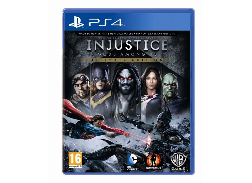 Jogo Injustice Gods Among Us PS4 Warner Bros