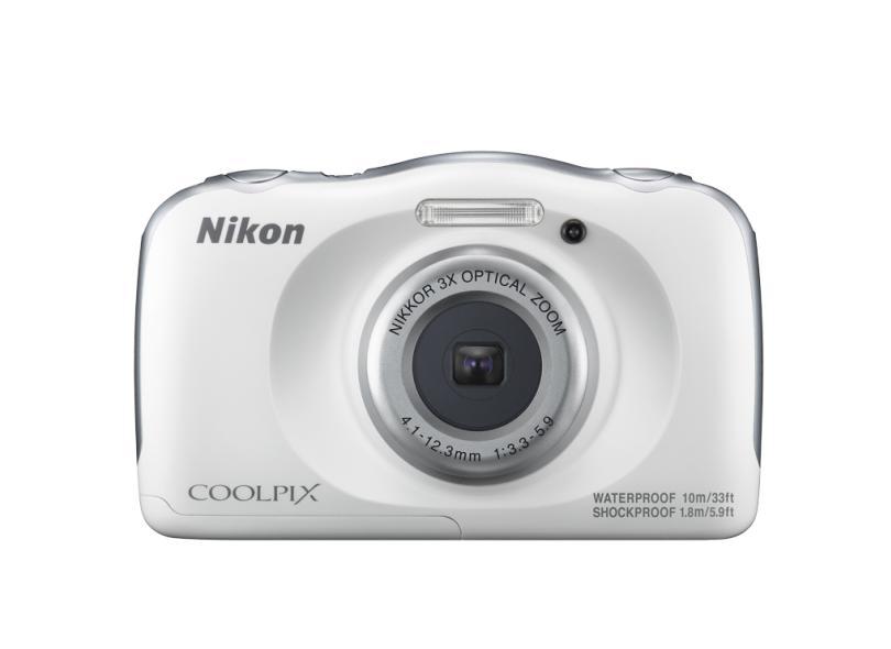 Câmera Digital Nikon Coolpix 13.2 MP Full HD W100