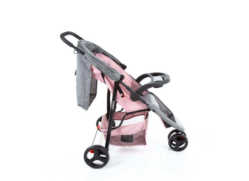 Carrinho de Bebê Travel System com Bebê Conforto Cosco Jetty Duo