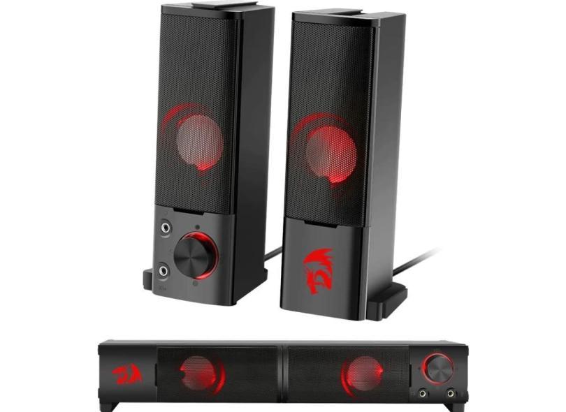 Home Theater Soundbar Redragon 6 W 2.0 Canais GS550