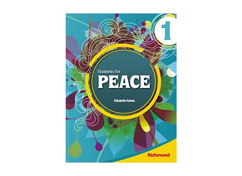 Student'S For Peace 1 - Livro Do Aluno + Mutirom - Eduardo Amos - 9788516068882