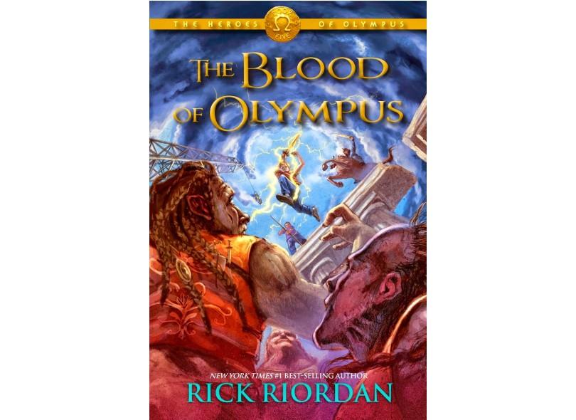 O Sangue do Olimpo - Série Os Heróis do Olimpo - Rick Riordan - 9788580575958