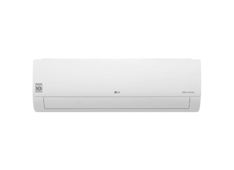Ar-Condicionado Split Hi Wall LG Dual Inverter 12000 BTUs Inverter Controle Remoto Frio S4-Q12JA3WF