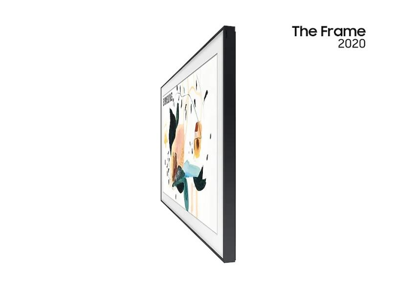 "Smart TV TV QLED 43 "" Samsung Série The Frame 4K QN43LS03TAGXZD 4 HDMI"