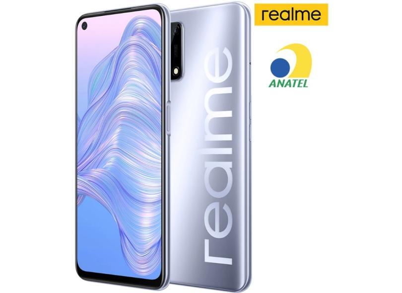 Smartphone Realme 7 8GB RAM 128GB Câmera Quádrupla 2 Chips Android 10