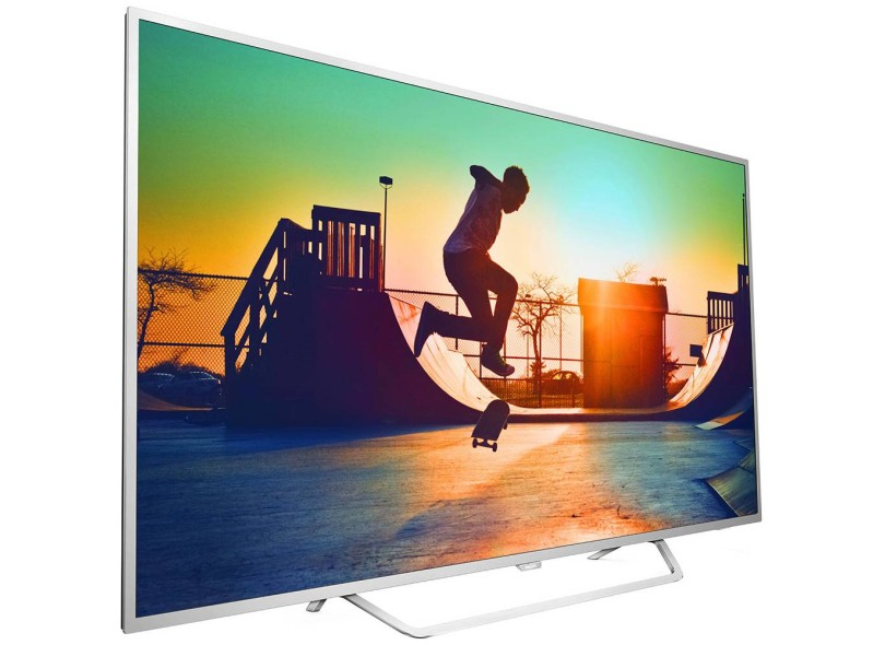 "Smart TV TV LED 65 "" Philips Série 6000 4K Netflix 65PUG6412/78 4 HDMI"