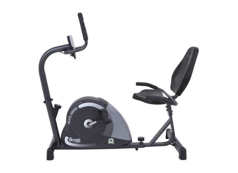 Bicicleta Ergométrica Horizontal Residencial MAG 5000 H - Dream Fitness