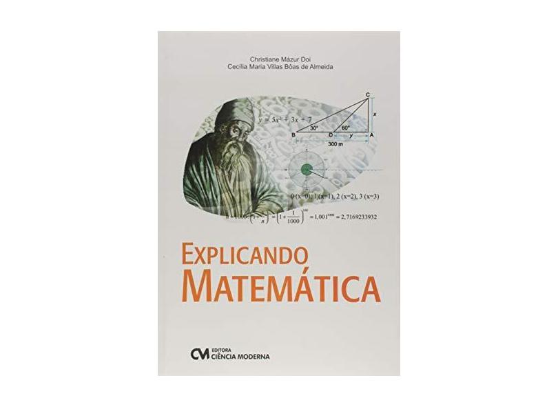 """Explicando Matemática - """"doi, Christiane Mazur"""" - 9788539907458"""
