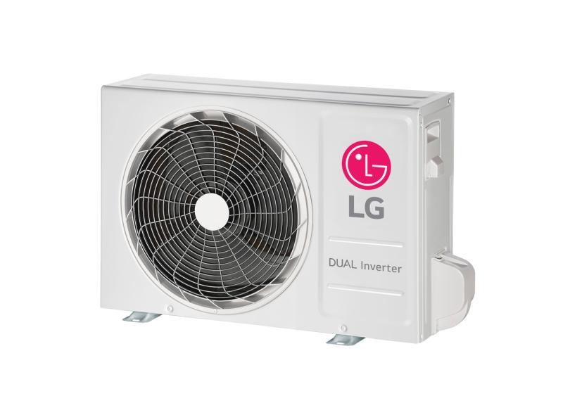 Ar Condicionado Split Hi Wall LG Dual Inverter Voice 12000 BTUs Inverter Controle Remoto Frio S4-Q12JA31C