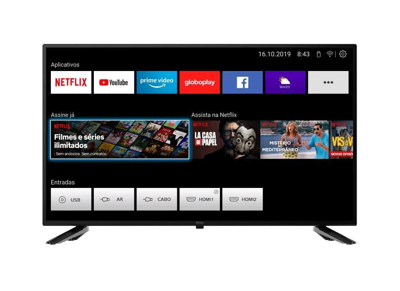 """Smart TV TV LED 32 """" Philco PTV32N5SE10H 2 HDMI"""