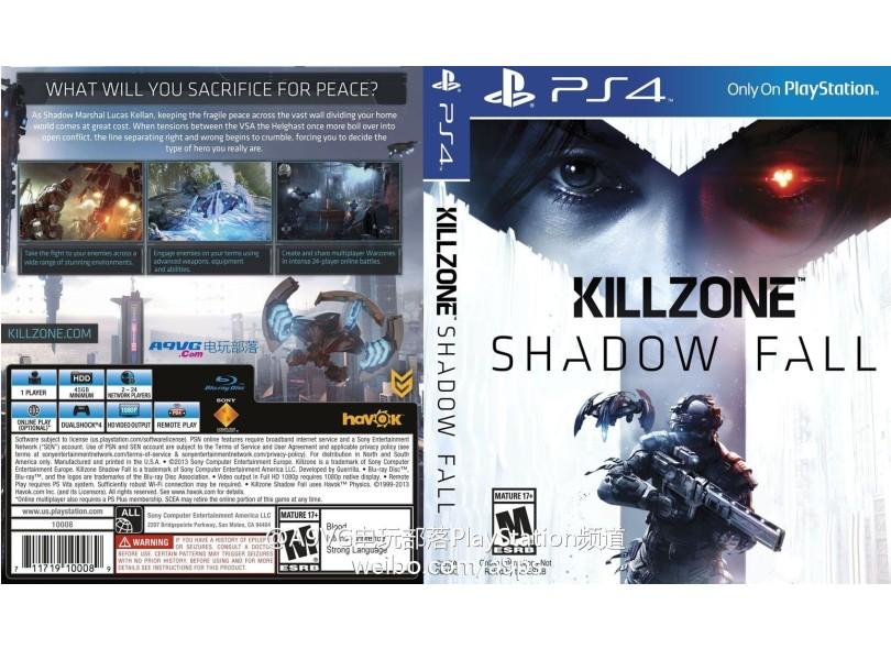 Jogo Killzone Shadow Fall PS4 Sony