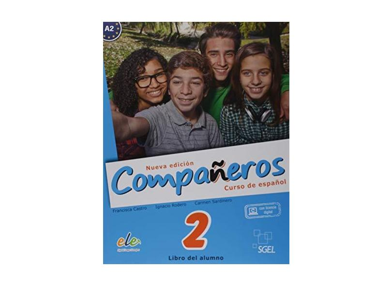 Compañeros. Curso de Español - Volume 2. Nível A2 (+ CDs) - Francisca Castro - 9788497789370
