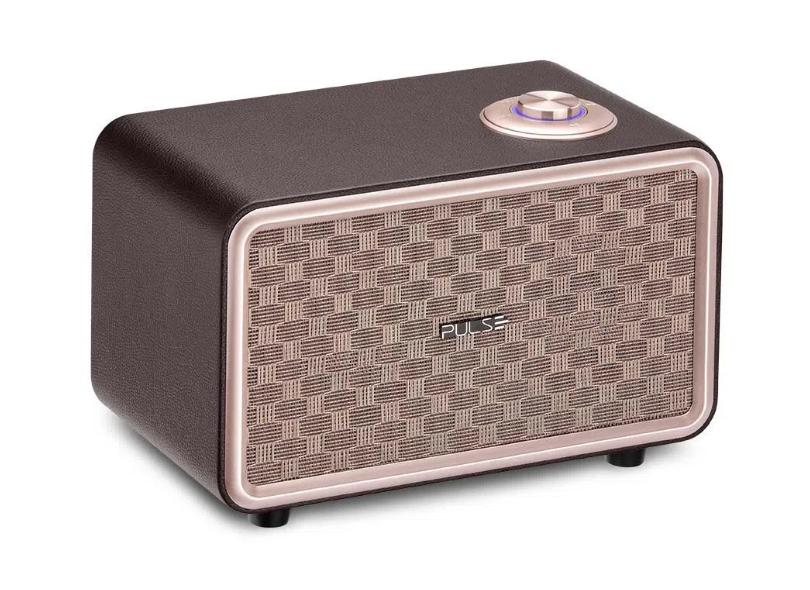 Caixa de Som Bluetooth Pulse Retrô Speaker Presley - SP367 80 W