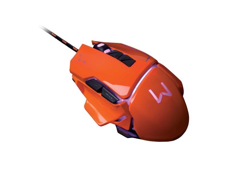 Mouse Gamer USB Warrior MO263 - Multilaser