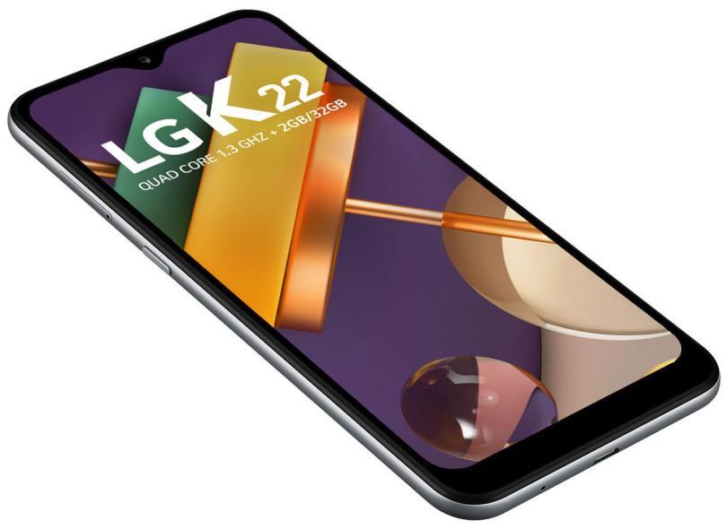 Smartphone LG K22 LMK200BMW 32GB Câmera Dupla Android 10