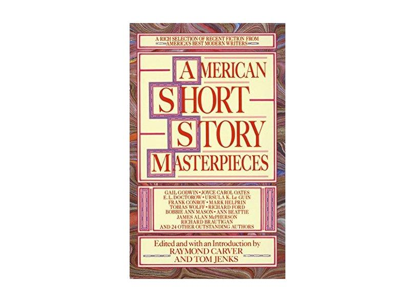 """American Short Story Masterpieces - """"jenks, Tom"""" - 9780440204237"""