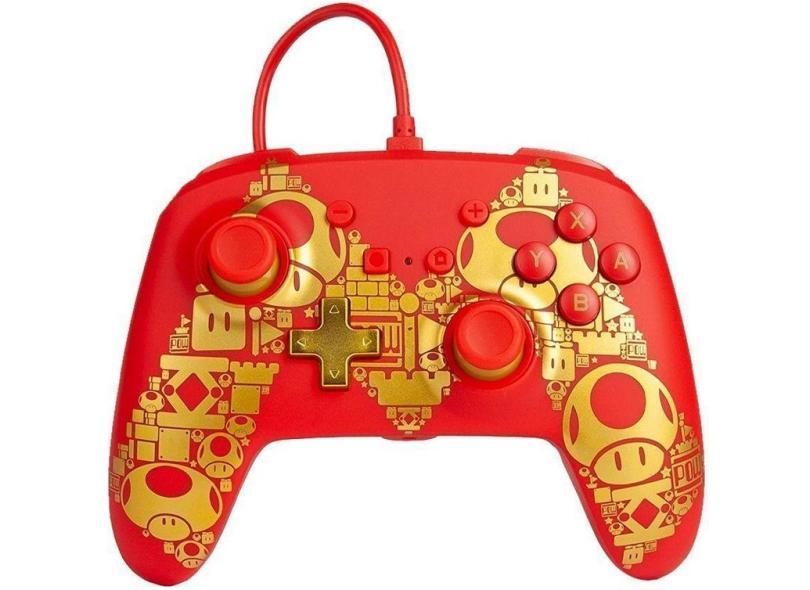 Controle Nintendo Switch Golden M - Power A
