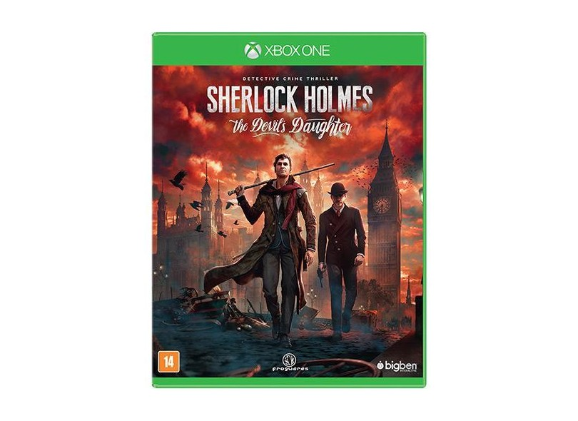 Jogo Sherlock Holmes The Devil's Daughter Xbox One Big Ben