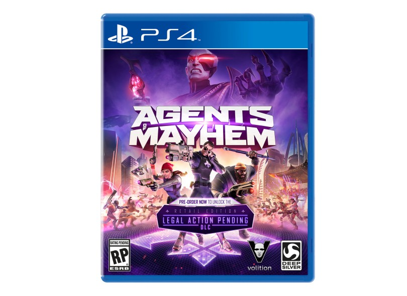 Jogo Agents of Mayhem PS4 Deep Silver