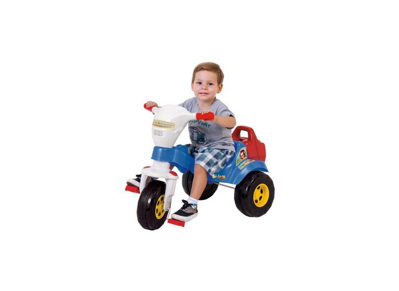Triciclo Magic Toys Tico-Tico Bichos com Som e Luzes