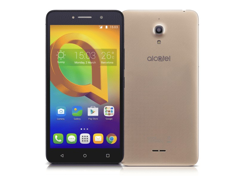 Smartphone Alcatel A2 XL 16GB 2 Chips Android 5.1 (Lollipop) 3G Wi-Fi