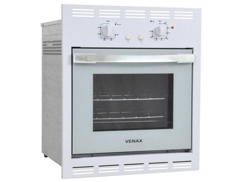 Forno de Embutir a Gás Venax 51.8 l Bianco