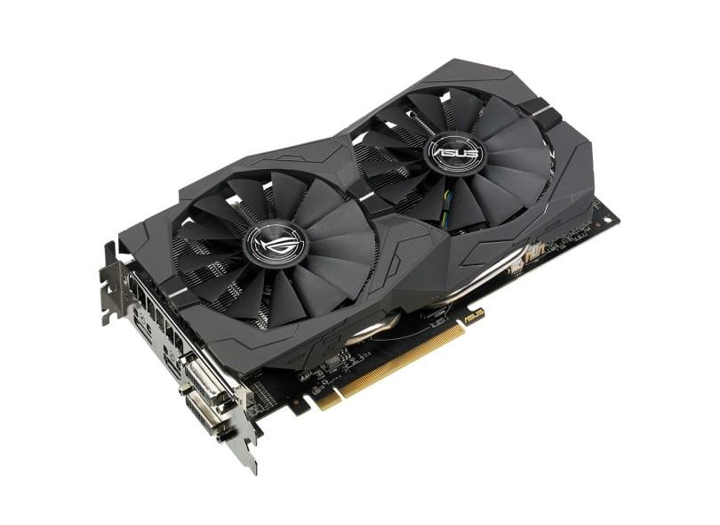 Placa de Video ATI Radeon RX 570 4 GB GDDR5 256 Bits Asus ROG-STRIX-RX570-O4G-GAMING