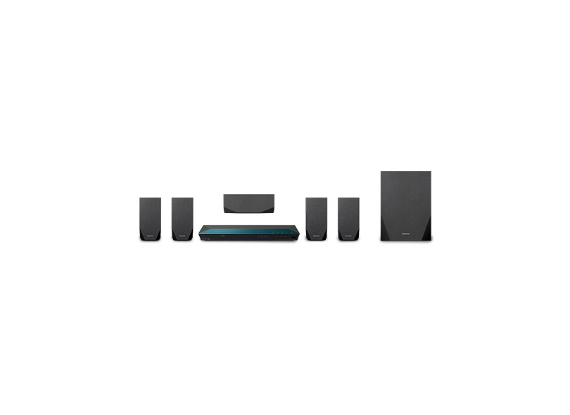 Home Theater Blu-Ray Sony 3D 5.1 Canais 850W HDMI USB BDV-E2100
