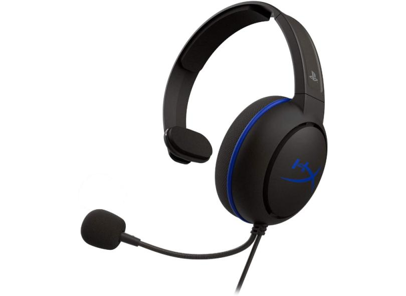 Headset Gamer com Microfone HyperX CloudX Chat PS4
