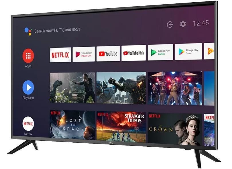 """Smart TV TV LED 43 """" JVC Full HDR LT-43MB308 3 HDMI"""