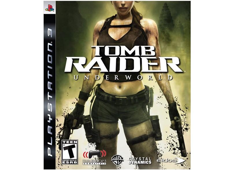 Jogo Tomb Raider: Underworld Eidos PS3