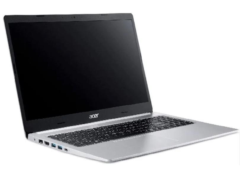 """Notebook Acer Aspire 5 Intel Core i5 10210U 10ª Geração 4.0 GB de RAM 256.0 GB 15.6 """" Full Linux A515-54-557C"""