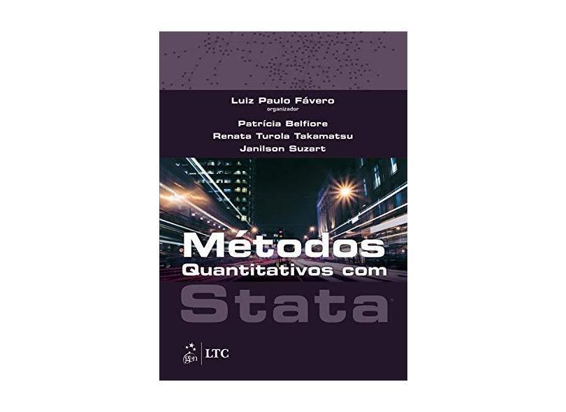 Métodos Quantitativos Com Stata - Luiz Paulo Fávero - 9788535251579
