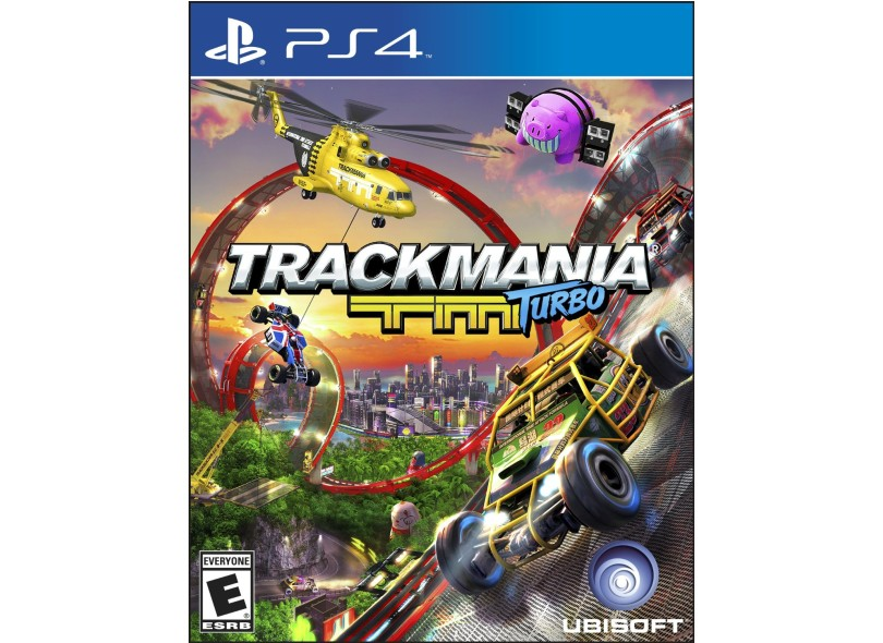 Jogo TrackMania Turbo PS4 Ubisoft