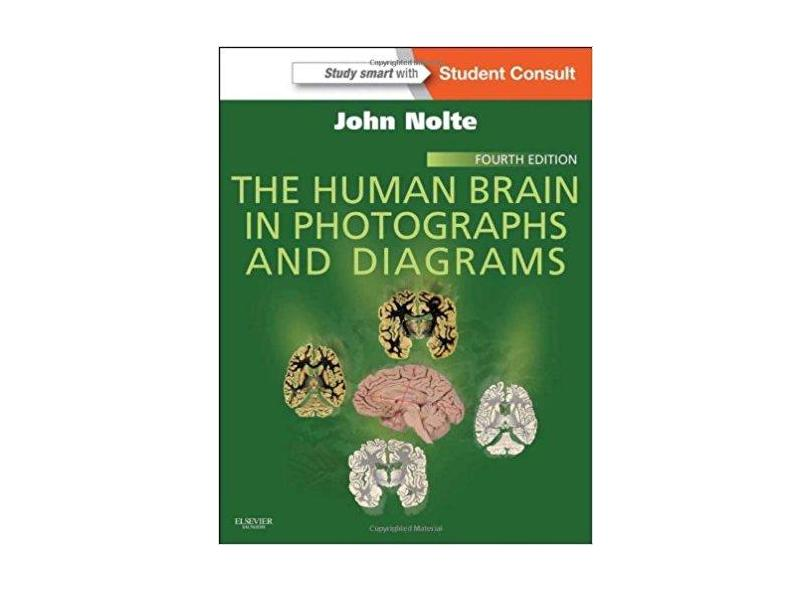 THE HUMAN BRAIN IN PHOTOGRAPHS AND DIAGRAMS, WITH STUDENT CONSULT ONLINE AC - Nolte - 9781455709618