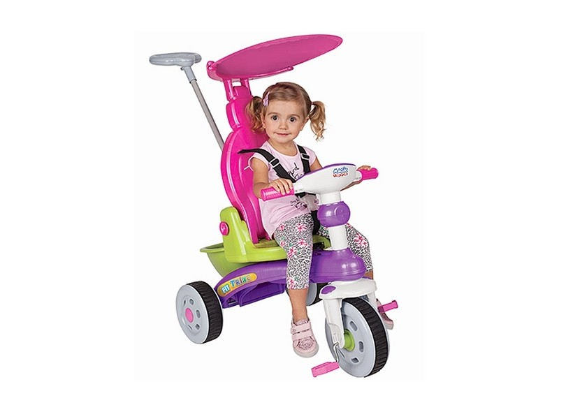 Triciclo com Pedal Magic Toys Fit Trike 3339