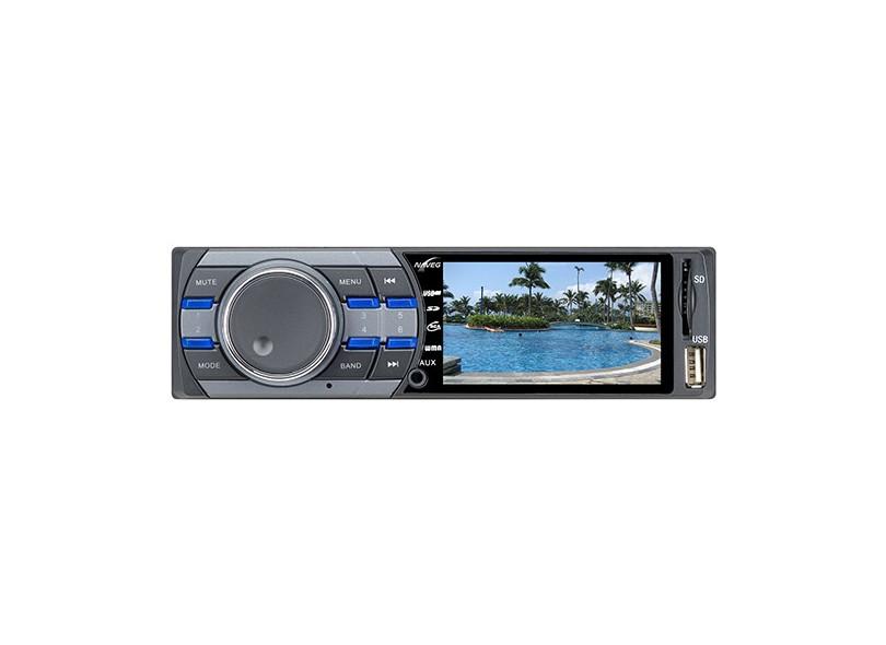 Som Automotivo MP3 Player Naveg NVS 3099