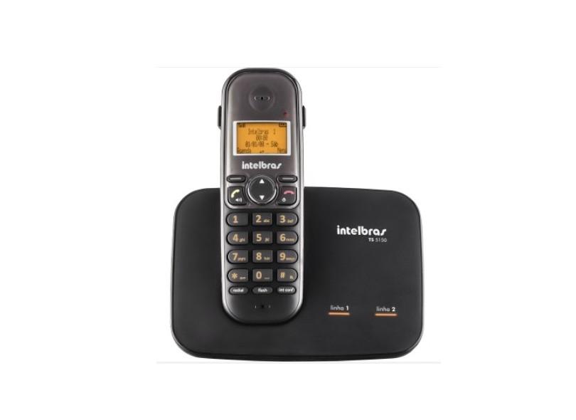 Telefone sem Fio Intelbras com 6 Ramais TS 5150 + 6