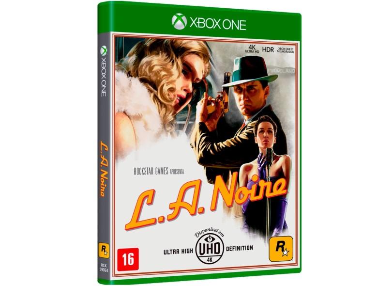 Jogo L.A. Noire Xbox One Rockstar