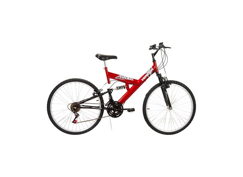 Bicicleta Verden Bikes Mountain Bike 18 Marchas Aro 26 Suspensão Full Suspension Radikale