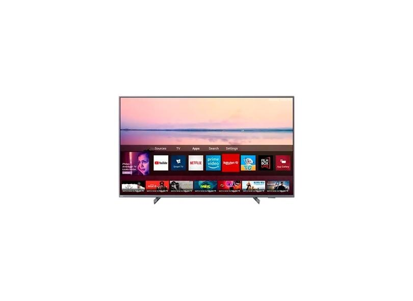 "Smart TV TV LED 55"" Philips 4K Netflix 55PUG6794/78 3 HDMI"