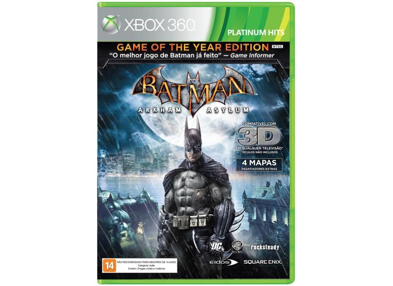 Jogo Batman Arkham Asylum Xbox 360 Warner Bros
