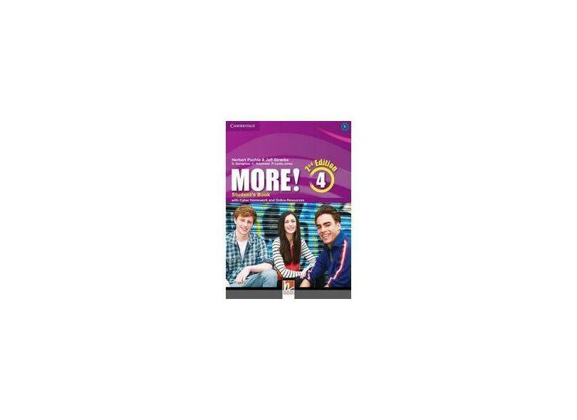 More! 4 Sb 2Ed W/Cyber Homework - Cambridge - 9781107640511