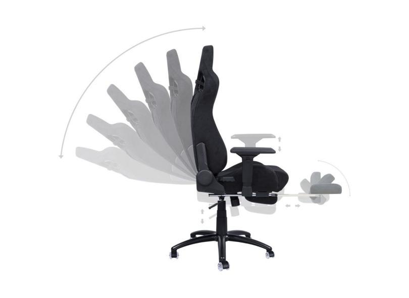 Cadeira Gamer Reclinável Mad Racer V12 Suede PCYes