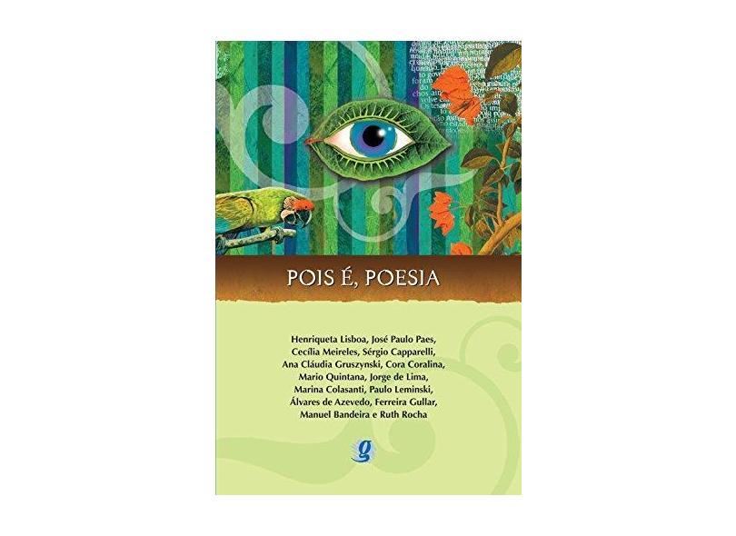 Pois É, Poesia - Col. Antologia de Poesias para Jovens - Vários - 9788526009370