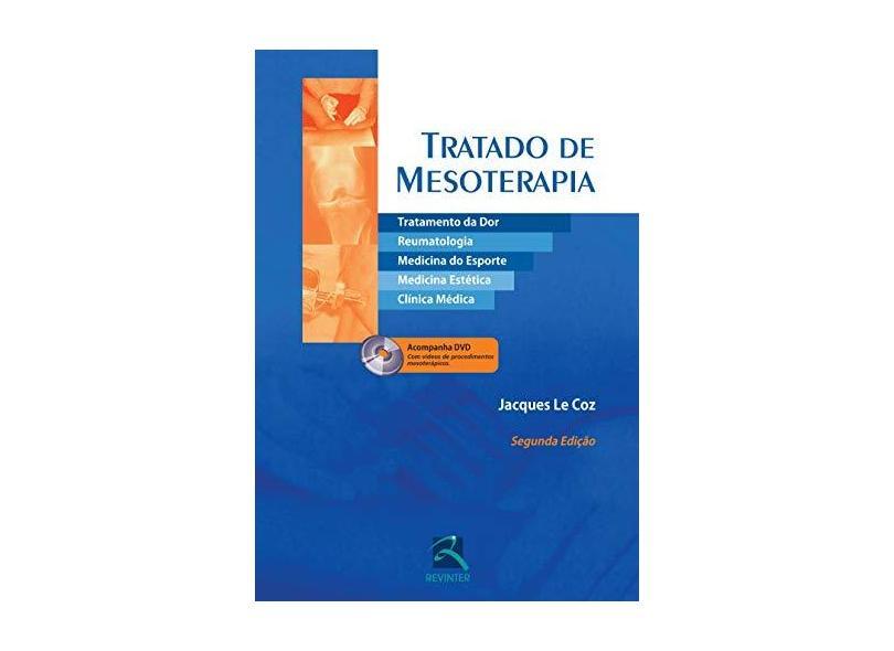 TRATADO DE MESOTERAPIA - Coz, Jacques Le - 9788537204658