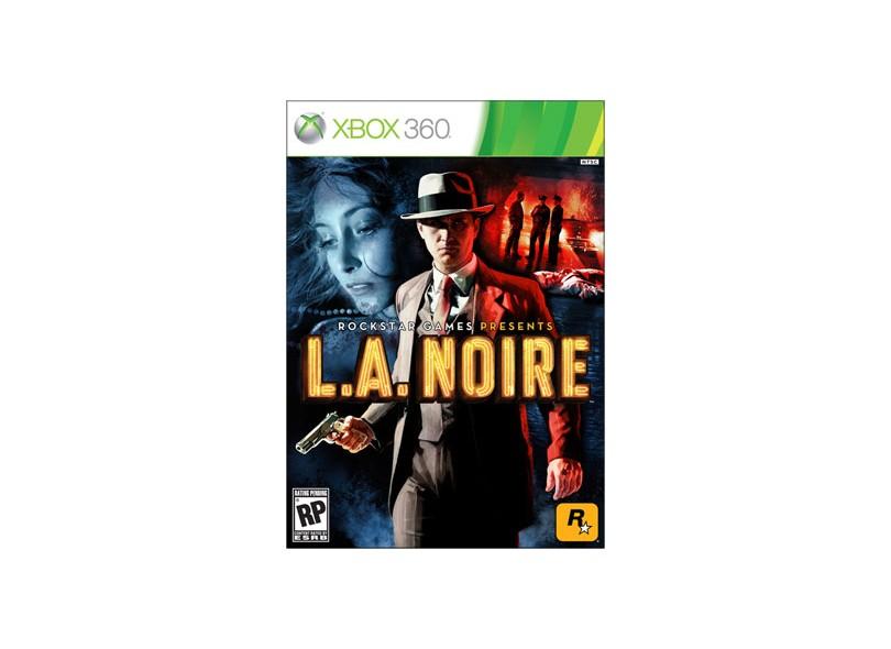 Jogo L.A Noire Rockstar Xbox 360