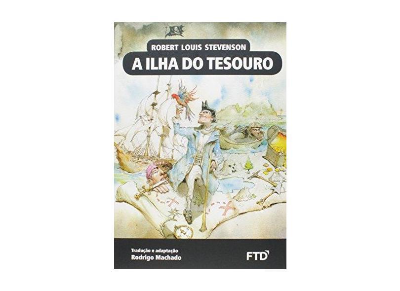 A Ilha do Tesouro - Col. Almanaque de Clássicos da Literatura Universal - Stevenson, Robert Louis ; - 9788596004039